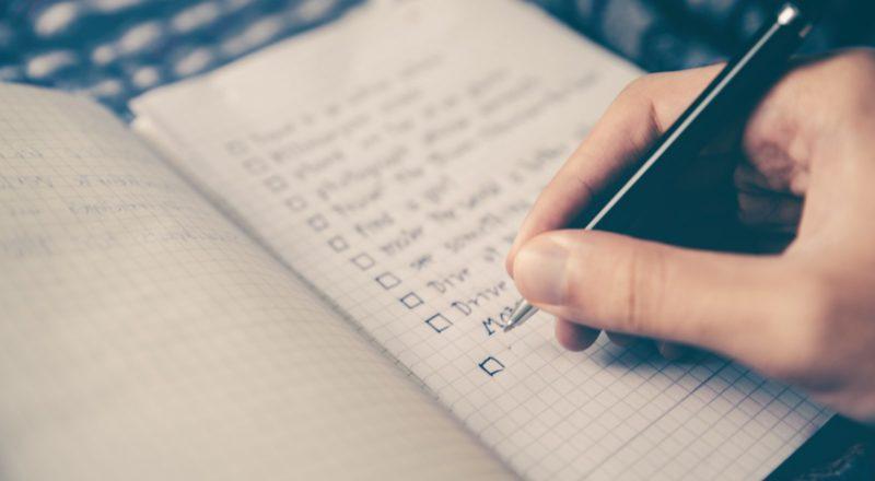 eventplanerings checklista