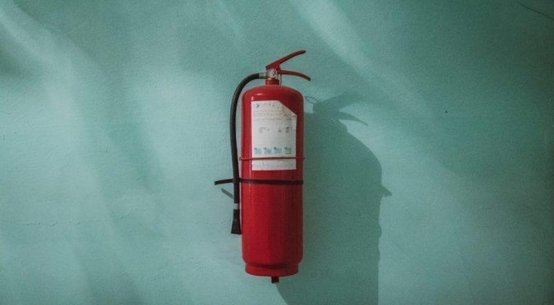 Hälsa och säkerhet för evenemang: Ha en brandsläckare till hands