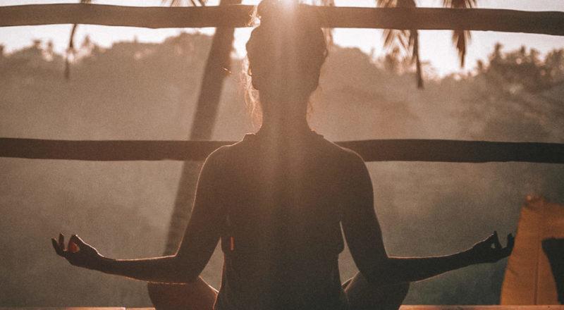 Du är alltid fri att meditera på wellness evenemang