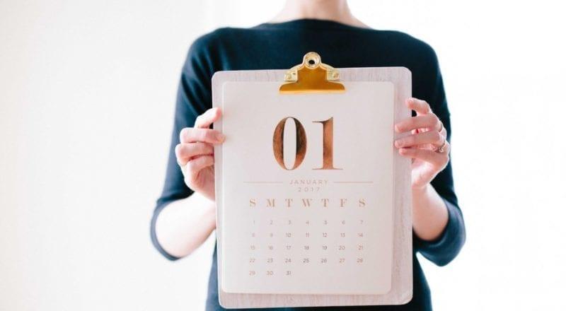Hur du väljer datum för ett evenemang